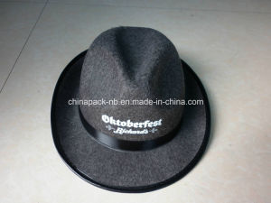 Promotional Fedora Gray Felt Party Hats (CPPH_011) pictures & photos