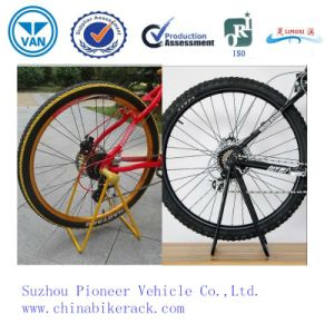 Hot Sales Powder Coated Bicycle Rack pictures & photos