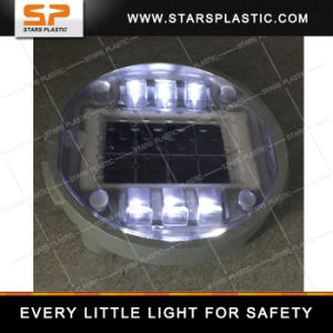 Bl-A06-Yd14 IP68 Embedded LED Solar Warning Light Buried Stud pictures & photos