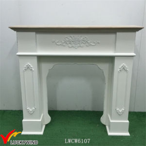 European Classic Vintage Handmade Mantle Fireplace Wood pictures & photos