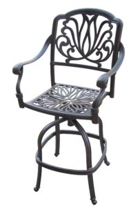 High-Quality Swivel Bar Stool Garden Furniture pictures & photos