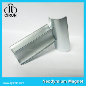 Zinc Coating Arc NdFeB Permanent Motor Magnet pictures & photos