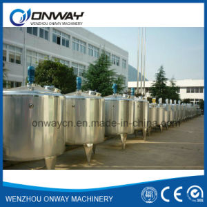 Pl Stainless Steel Jacket Emulsification Mixing Tank Oil Blending Machine Mixer Sugar Solution Heating Stand Mixer pictures & photos