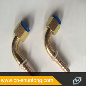 90 Degree Metric Female O-Ring Hydraulic Hose Fitting
