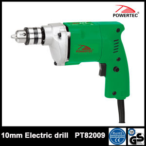 Powertec 400W Hand ED10A 10mm Electric Drill PT82009 pictures & photos