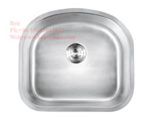 D Shape Single Bowl Sink, Kitchen Sink, Stainless Steel Sink, Sink, Handmade Sink pictures & photos