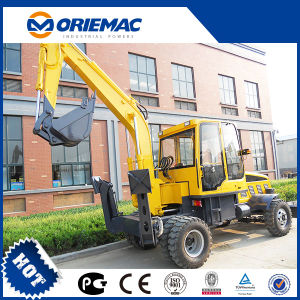 Mini Wheel Excavator Yugong Wyl4.8 Hydraulic Excavator pictures & photos