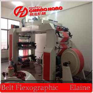Cj884-1000 4 Color Normal Speed Roll Paper Flexo Printing Machine pictures & photos