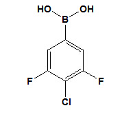 3, 5-Difluoro-4-Chlorophenylboronic Acid CAS No. 864759-63-7 pictures & photos