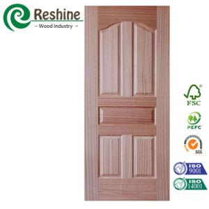 Sapelle HDF Molded Door Skin for Interior Doors