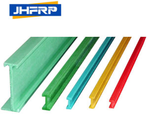 Pultruded Glassfiber I Beam with Fire Retardant, Impact Resistant pictures & photos