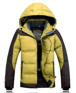 2016 Men Latest Windproof Warm Winter Ski Down Jacket pictures & photos