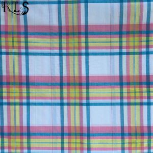 100% Cotton Poplin Yarn Dyed Fabric Rlsc50-9