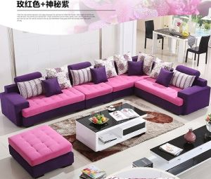 china comfortable and colorful sofa with many styles made of
