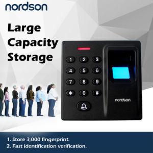 Fast Identification Verification Large Capacity Fingerprint Access Controller Fingerprint Door Lock pictures & photos