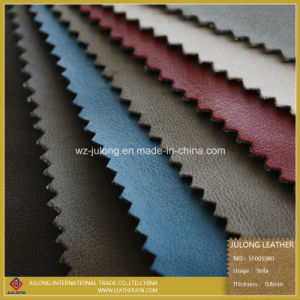 Abrasion Resistance PU Leather for Sofa (SF005) pictures & photos