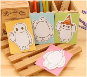Promotion Lovely Colored Sticky Notes, Memo Pad Gift