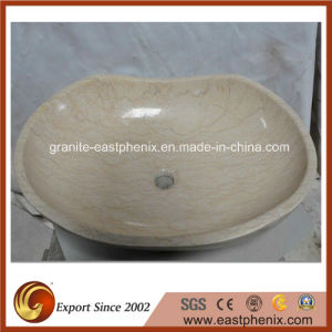 Surface Polished Beige Granite Sink pictures & photos