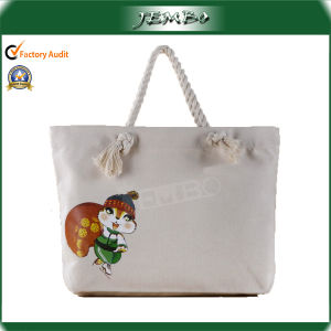 Customized Printing Canvas Shopping Bag with Handle pictures & photos