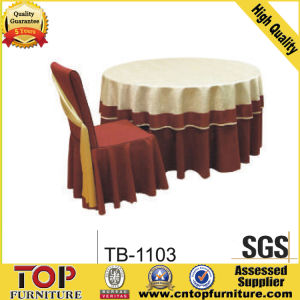 Festive Table Cloth and Chair Cover pictures & photos