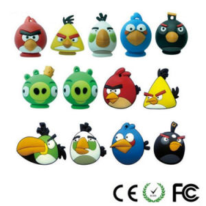 2/4/8GB PVC Bird Animal USB Flash Drive pictures & photos