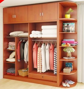 High Quality White Wardrobe with Many Storages pictures & photos