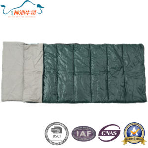 Cotton Sleeping Bag for Two Person Used Camping pictures & photos