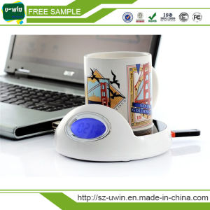4 Port USB Heater Warmer Coffee Cup with Hub pictures & photos