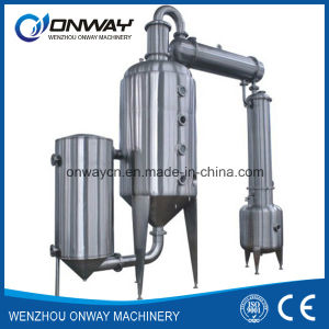 Wz High Efficient Vacuum Raising Film Single Stage Evaporator Hydro Distillation pictures & photos