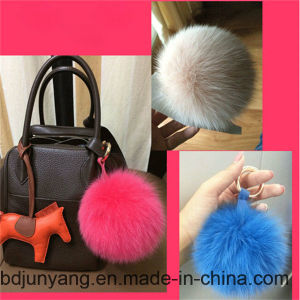 Car Hanging Pendant Fur POM Keychain pictures & photos