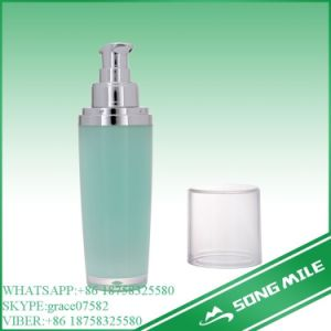 30ml Acrylic Glass Frosted Cosmetic Airless Bottle pictures & photos
