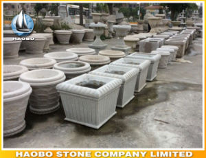 Granite Garden Flower Planter Square Shape Wholesale pictures & photos