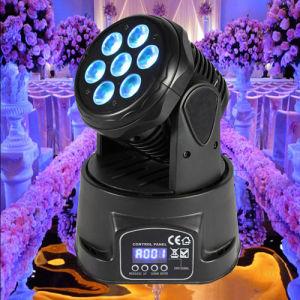 Sound Control Mini 70W RGBW LED Moving Head