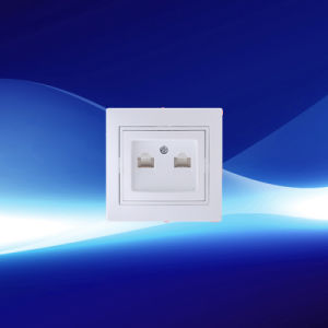 Telephone and Computer Wall Socket