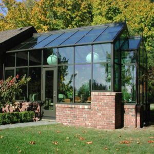Aluminum Glass Sunroom with Large Folding Door (FT-S) pictures & photos