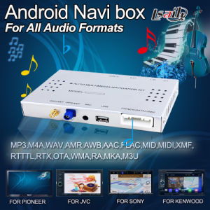 Car Android Navigation Box for Jvc Display with Touch Navigation, Live Navigation, 2 USB Ports pictures & photos