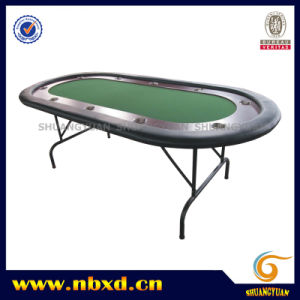 Poker Table with Iron Leg (SY-T05) pictures & photos
