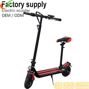 Green Transport Aluminum Metal Electric Standing Scooter pictures & photos