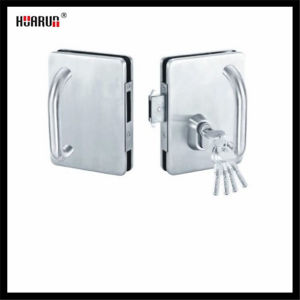 Stainless Steel Glass Door Lock With Handle HR-1139/HR-1138 pictures & photos