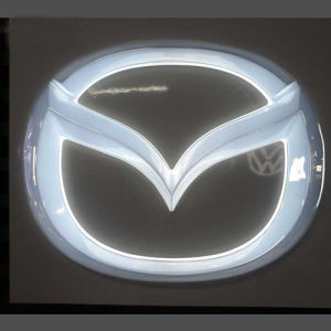 Direct Car Logo Manufactorer 3D Acrylic LED Car Brands Logo Names pictures & photos