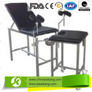 Stainless Steel Gynecological Bed Economy Type (CE/FDA/ISO) pictures & photos