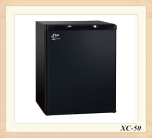 Minibar Lockable Vertical Showcase Refrigerator Fashion Black Absorption Fridge pictures & photos