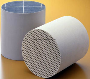 Honeycomb Ceramic Substrate Cordierite/Sic Diesel Particulate Filter DPF pictures & photos