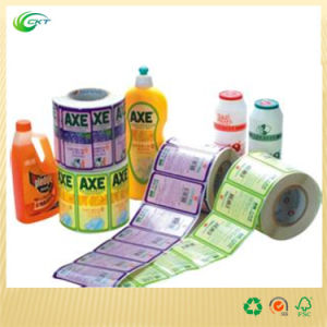 Luxury Label Printing with Discount Price (CKT-LA-669)