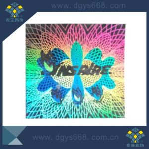 Custom Design Security Multi-Color Laser Sticker pictures & photos