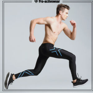 Compression Tights Sports Gym Jogging Running Men Pants pictures & photos