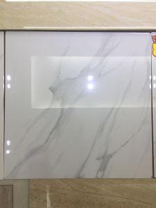 600*600mm Polished Glazed Marble White Porcelain Tile Fy6111 pictures & photos