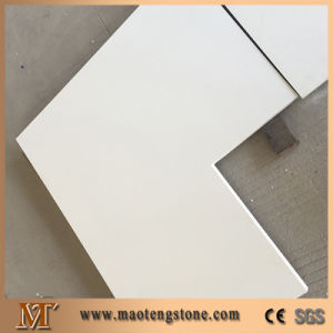 Popular Pure White Quartz Stone Bathroom Vanity Tops pictures & photos