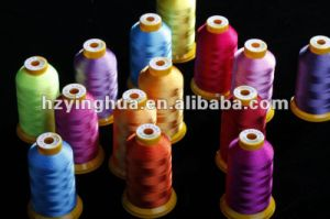 100% High Tenacity Viscose Monofilament Embroidery Thread pictures & photos