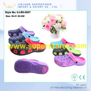 Fresh Breathable Colorful Garden Clog, Cheap EVA Clog Sandal Shoes for Women pictures & photos